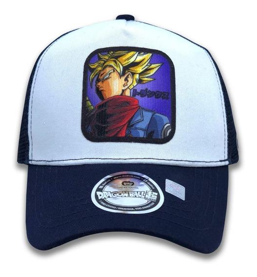 Gorra Dragon Ball Future Trunks Super Saiyan 100% Original Toei Tipo Goorin