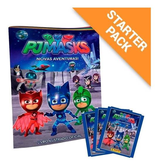Starter Pack Pj Masks - Álbum + 20 Envelopes