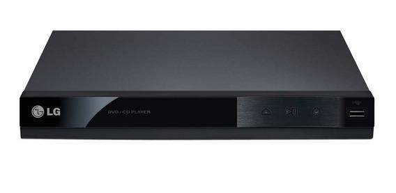 Dvd Player Dp122 Entrada Usb Preto Bivolt, Lg