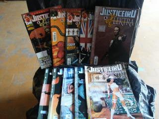 Revista Hq Justiceiro Elektra 10 Ediçoes Panini 2003 Òtimas