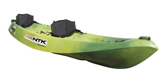 Kayak Nautika Neltume Doble Acuatico Resistente + Remos