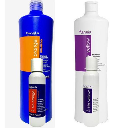 Shampoo Fanola No Orange *100ml + No Yellow *100ml
