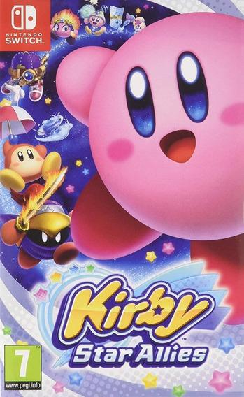 Mídia Física Kirby Star Allies Nintendo Switch Enviomesmodia