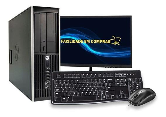 Computador Pc Hp 4300 Sff I3 3ºgeração 4gb Hd 500gb Wi-fi