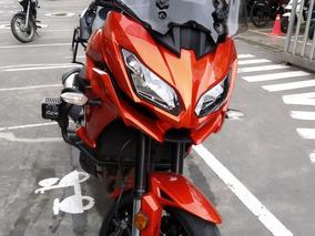 Kawasaki Versys 1000 Modelo 2015 Naranja-rojo