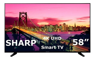"Smart TV Sharp 4K 58"" LC-58Q7330U"