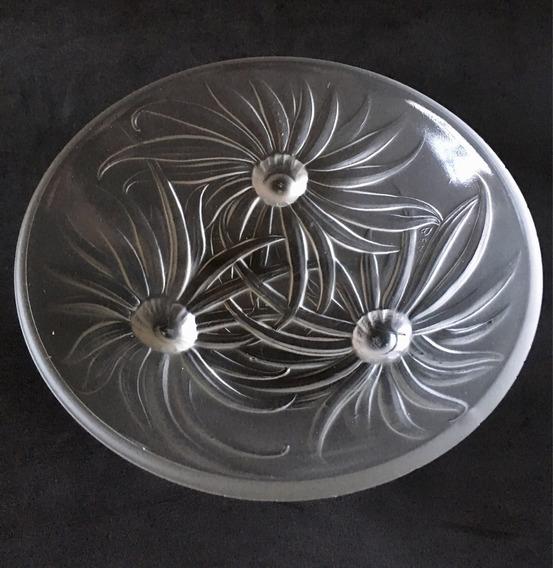 Bowl Mini Fruteira Cristal Antigo Francês Assinada