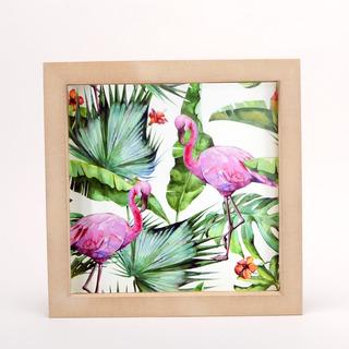 Cuadros Decorativos Frases Flores Tropical