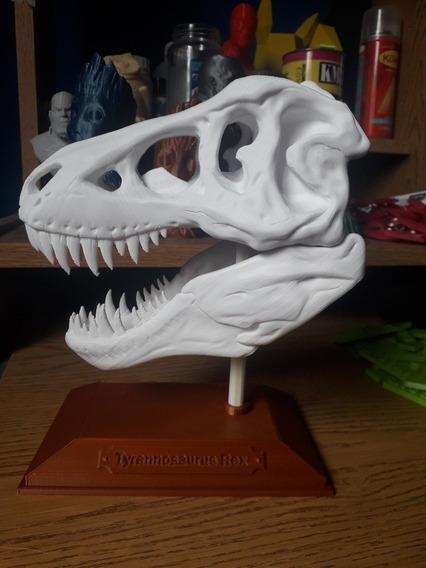 Craneo Tiranosaurio Rex, Impresion 3d
