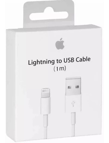 Cable Cargador Lightning Original 5 6 7 8 X Plus iPhone/iPad