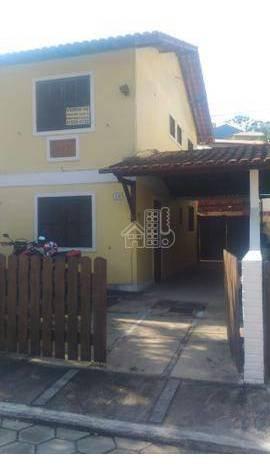 Casa Com 2 Dormitórios À Venda, 77 M² Por R$ 240.000 - Maria Paula - São Gonçalo/rj - Ca1174