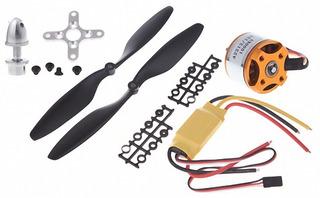 Kit Motor Brushless A2212 1000kv Ideal Para Drone.