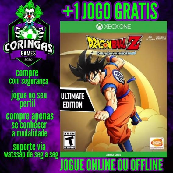 Promoção De Estreia Dragon Ball Kakarot Xbox One + 1 Brinde