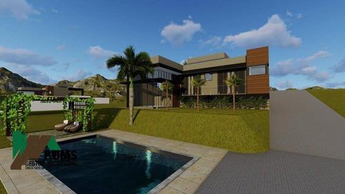 Chácara Em Construção, Ótima Oportunidade Para Quem Busca Uma Casa De Campo Na Região Circuito Das Águas - Ch0346