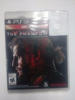 Metal Gear Solid V: The Phantom Pain.-ps3