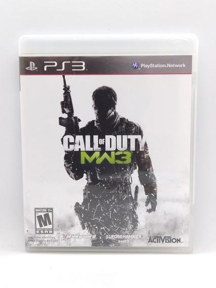 Call Of Duty Modern Warfare 3 Ps3 Midia Fisica Jogo Game