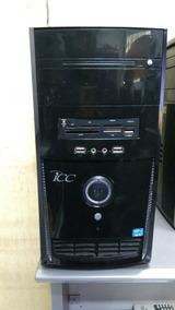 Computador Desktop Icc Intel Core I3 4gb Hd 750gb+monitor Lg