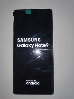 Galaxy Note 9 128gb Azul Seminovo, S/ Marcas, Garantia De 3m