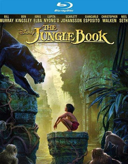 Blu-ray + Dvd The Jungle Book / Libro De La Selva 2016