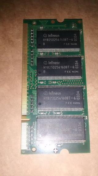 Memoria Notebook Infineon 256mb Ddr 333 Cl2.5 32mx64 N2