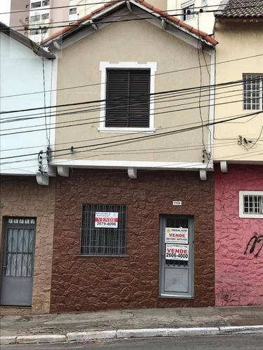 Casa Com 2 Dormitórios À Venda, 80 M² Por R$ 345.000,00 - Mooca (zona Leste) - São Paulo/sp - Ca0190