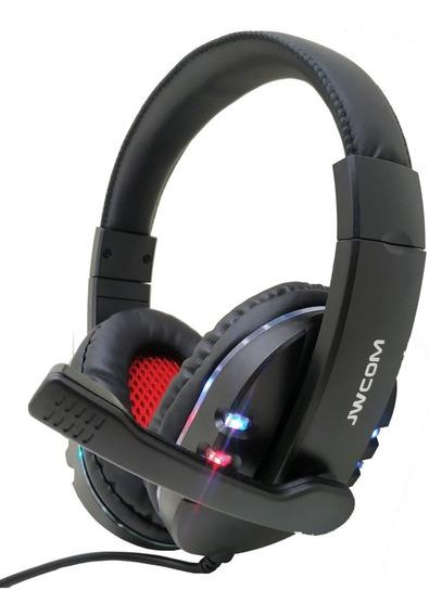 Headset Gamer 7.1 Usb Microfone Led Jogos Pc Note Ps3 Xbox