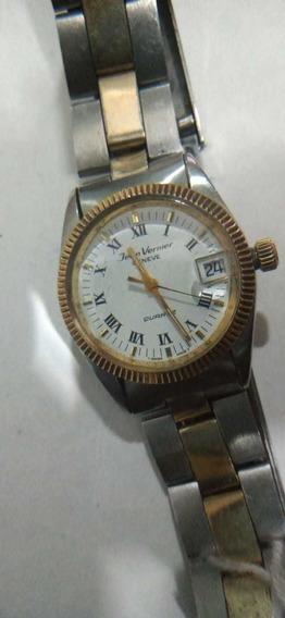 Relógio Jean Vernier - Geneve - Quartz - Suíço - Antigo