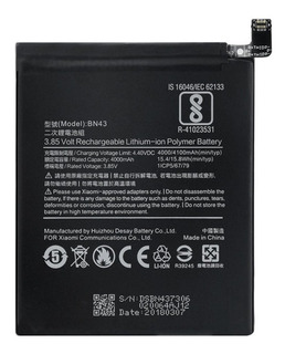 Bn43 Bateria Xiaomi Redmi Note 4x Bn 43 Mi Em Estoque