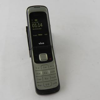 Celular Flip Nokia 2720 C/ Câmera Operadora Vivo - Usado
