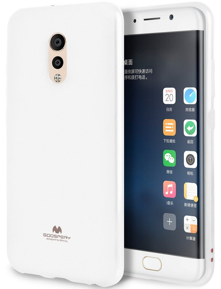 Goospery Marlang Marlang Vivo Xplay 6 Funda - White, Free Sc