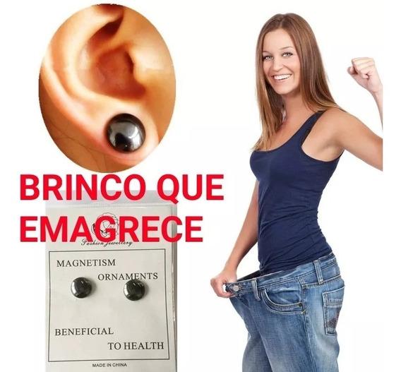 Kit Brinco+pulseira Magnética Emagrecedor Bracelete+ Brinde