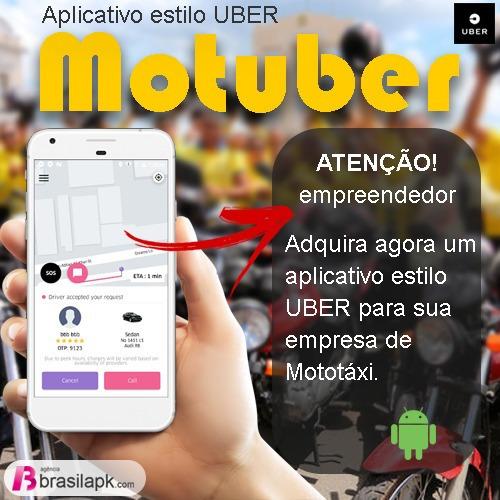 Aplicativo Uber Clone Para Moto Taxi Instalado Pronto P/ Uso