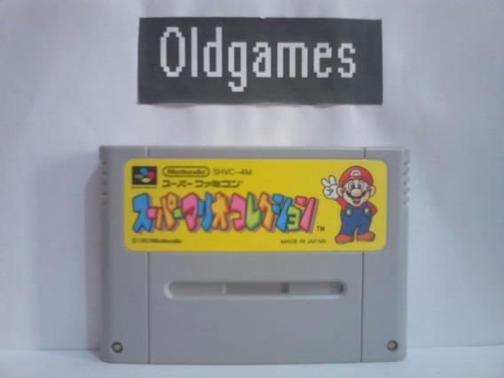 Super Mario Collection All Stars Super Famicom Original.