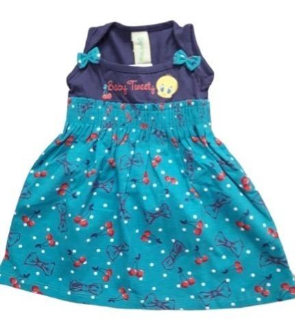 Vestido Tam. P Bebê Modinha Fakini
