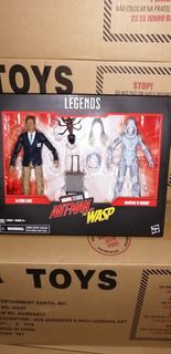 Pack Luis Y Ghost Antman Marvel Legends