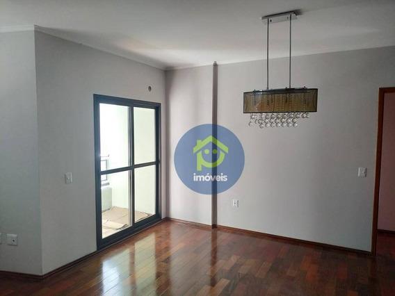 Apartamento Com 3 Dormitórios Para Alugar, 120 M² Por R$ 1.200,00/mês - Vila Redentora - São José Do Rio Preto/sp - Ap7501
