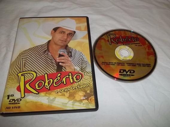 * Dvd - Roberio E Seus Teclados Ao Vivo