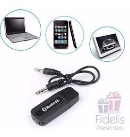 Adaptador De Áudio Chamada E Música Usb Bluetooth Receptor