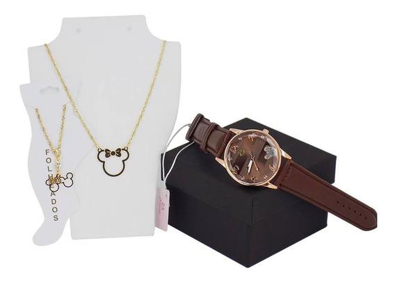 Relógio Kit Minnie