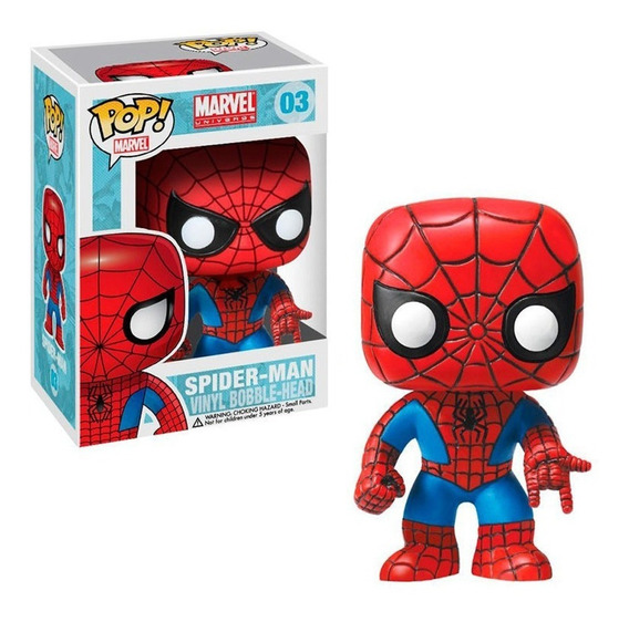 Funko Pop Marvel - Spiderman Bobble 03