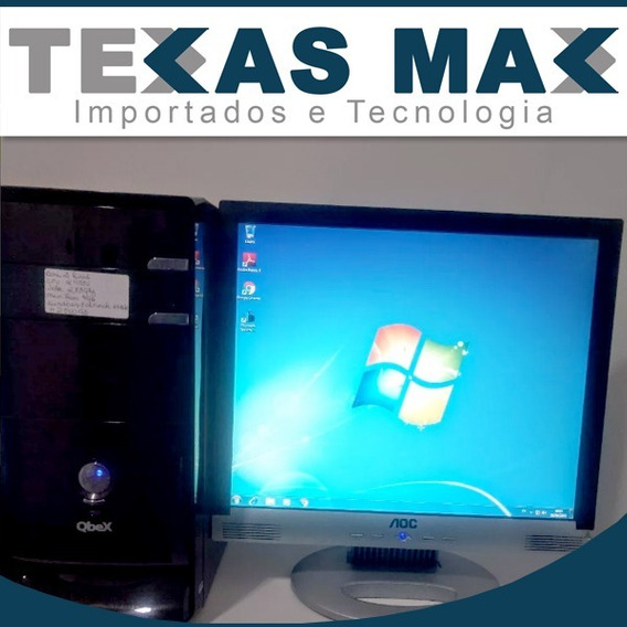 Computador Qbex Core 2 Quad 2,83ghz ,500gb Hd , 4gb Ram Ddr3