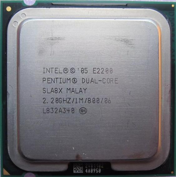 Processador Intel Pentium Dual Core E2200 Lga 775 2,20ghz