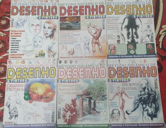 Coleção Método Dinâmico De Desenho E Pintura (1 Ao 6)