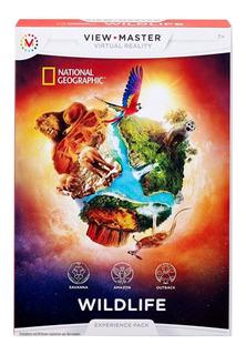 View Master Paq.realidad Virtual Kit Vida Salvaje Wildlife