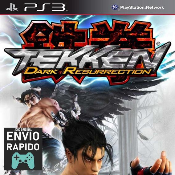 Tekken 5 Dark Resurrection Jogos Ps3 Original