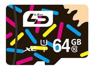 Cartão 64gb Micro Sdxc I Classe 10 80m/s Ld - Promoção