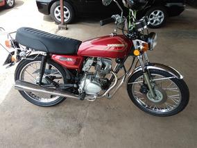 Honda Cg Ml 125 1982 Vermelha
