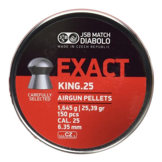 Diabolo Jsb Match Exact King Mkii Heavy .25 Cal