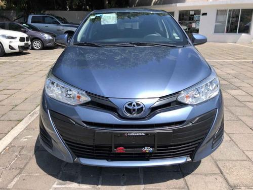 Imagen 1 de 8 de Toyota Yaris 2019 4p Sedán Core L4/1.5 Man