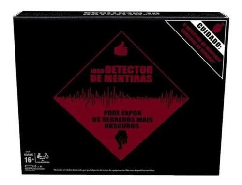 Imagem 1 de 4 de Jogo De Tabuleiro Detector De Mentiras Hasbro Gaming E4641